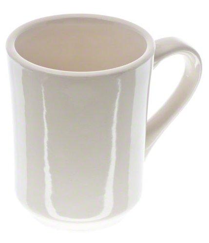 Update International (TIA-75) 8 oz Ivory Tiara Mugs [Set of 36]