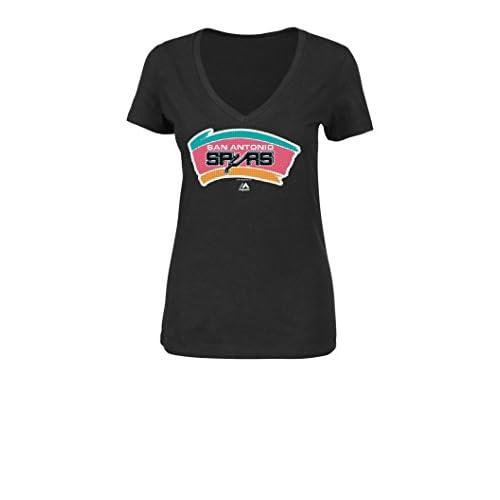 770d9e6a1ef cheap NBA Women s Majestic Athletics Winning Feeling V-Neck T-Shirt ...