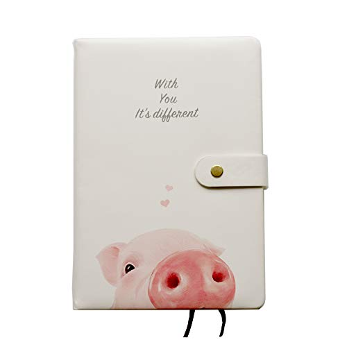 GuaziV Monthly Weekly Daily Productivity Planner 2019 HappinessGratitudeCalendarJournal Planner Daily Business Work Planner (Pig)