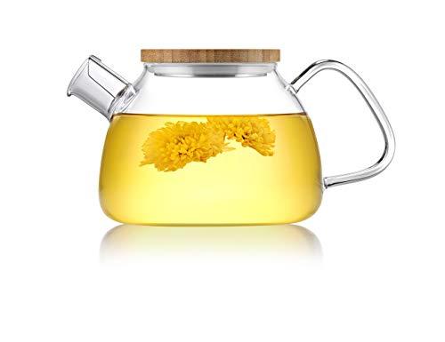 Glass Teapot Stainless Filter Strainer