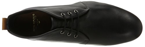 Derby Base Black W Sole Nero Midcut Cast RepubliQ Uomo Scarpe Nero Stringate Royal gqawzT