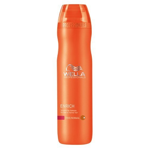 Style Volumizing Shampoo - Wella Enrich Volumizing Shampoo for Fine To Normal Hair for Unisex, 10.1 Ounce