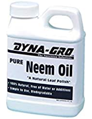 Dyna-Gro NEM-008 Pure Neem Oil Natural Leaf Polish, 8 oz
