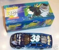 Kasey Kahne #38 Shark Tale Great Clips 2004 Dodge Intrepid 1/24 Scale Bank Action Racing Collectables ARC Hood Opens, Roof Flaps Open, Wheels Pose Only 336 Made (Dodge Intrepid Bank)