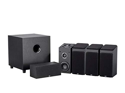 Monoprice 133832 Premium 5.1.4-Ch. Immersive Home Theater System - Black with 8 Inch 200 Watt Subwoofer (2-1 Channel Home Theater System With Subwoofer)