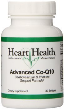 Heart HealthTM Advanced Co-Q10 (Cardiovascular & Immune Support) (30 Servings)