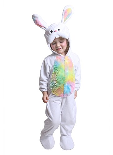 JFEELE Bunny Costume for Baby Boys and Girls - Perfect Rabbit Cosplay & Theme Party Dress Up Outfit Gift (0 to 6 Months) -