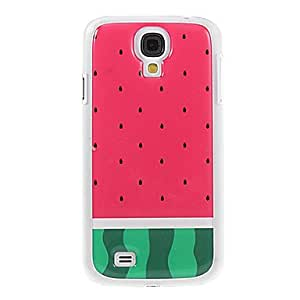 Watermelon Pattern TPU Smooth Gel Face High Quality Back Case Cover for Samsung Galaxy S4 I9500