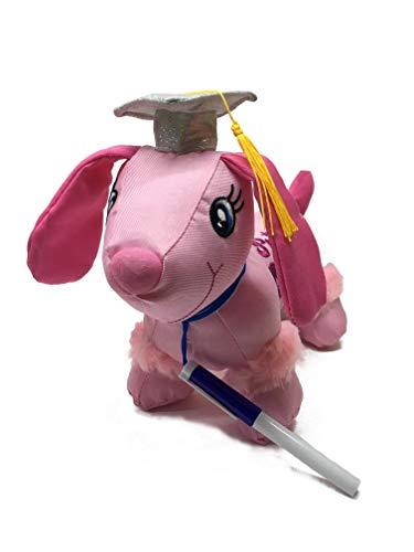 Charming Toys Graduation Autograph Stuffed Princess Dog w/ Pen, Congrats Grad! 9