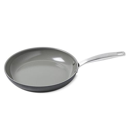 GreenPan Chatham 12 Ceramic Non-Stick Open Frypan, Grey