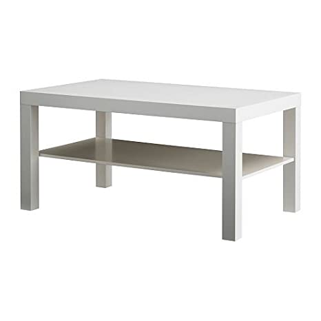 Ikea Manque - Mesa de café, 90 x 55 cm, Color Blanco: Amazon ...