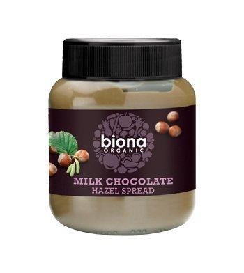 Biona Organic Choc Hazelnut Spread 350g by - Choc Spread