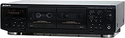 Sony Tc-we405 Dual Stereo Cassette Deck from Sony