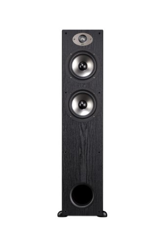 Polk Audio TSx 330T Tower Speaker - Black -