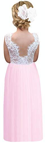 Sleeveless Girls Dress - 8