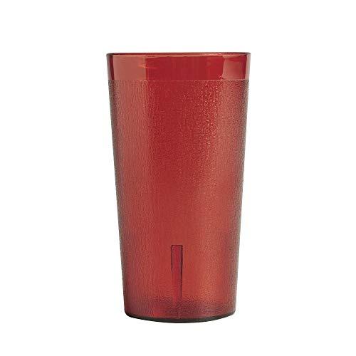 Ruby Red Colorware Tumbler - Cambro (800P2156) 8 oz Plastic Tumbler