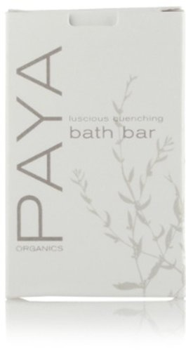 Paya Organics Luscious Quenching Bath soap with Orange Pe...