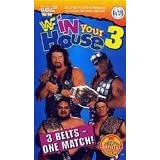 WWE/WWF 1995 VHS IN YOUR HOUSE 3