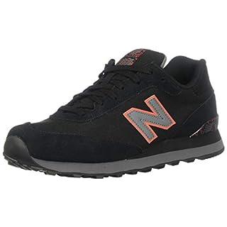 New Balance Men's 515 V1 Sneaker, Black/Castlerock, 7.5 XW US