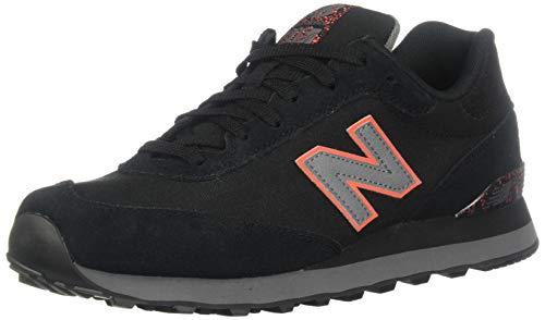 New Balance Men's 515v1 Sneaker, Black/Castlerock, 16 XW US