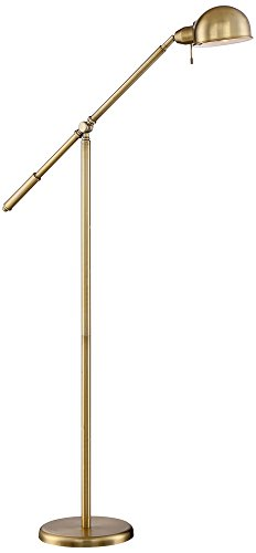 Dawson Antique Brass Pharmacy Floor Lamp by 360 Lighting