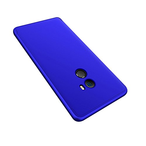 Xiaomi Mi Mix 2 Caso, Vandot de 360 Grados Alrededor de Todo el Cuerpo Completo de Protección Ultra Thin Slim Fit Cubierta de la Caja de Mate PC Absorción de impactos Shockproof para Xiaomi Mi Mix 2 / PC QBHD-3