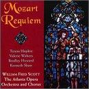 Mozart: Requiem in Great interest d sold out Hopkin Scott Howard Walters