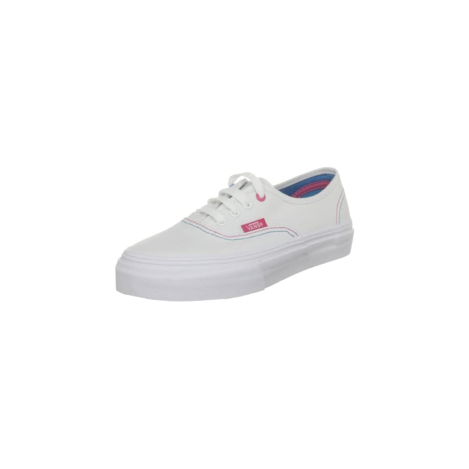 Vans Authentic Youth Kids Girls SZ 10.5 White Casual Athletic Shoes