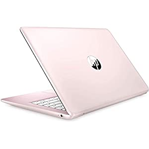 2021 HP Stream 14″ HD Thin and Light Laptop, Intel Celeron N4000 Processor, 4GB RAM, 64GB eMMC, HDMI, Webcam, WiFi, Bluetooth, 1 Year Microsoft 365, Windows 10 S, Rose Pink, W/ IFT Accessories