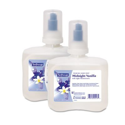 Softsoap Foaming Hand Soap Refill, Midnight Vanilla Scent, Clear, 1250 Ml, 2 Per Carton ()
