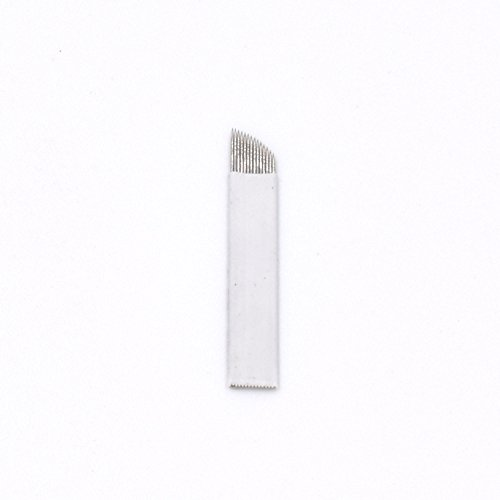 Tiikii 14 Pin Steriled Disposable Sloped Microbladings 0 25