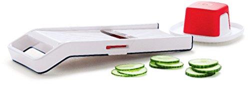 Tupperware Mando Chef Mandoline Slice Cut Time Saver (MandoJunior)