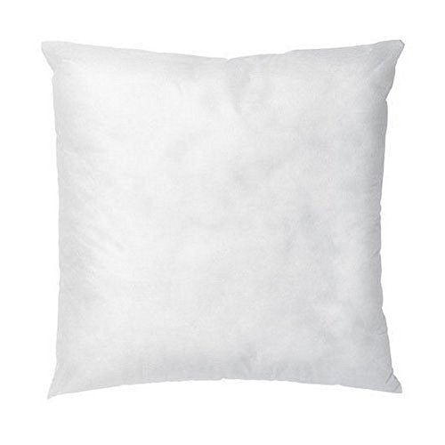 Why Choose IZO All Supply Square Sham Stuffer Hypo-Allergenic Poly Pillow Form Insert, 16 L x 16 W