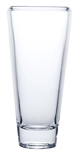 Mikasa 5205892 Ellery Crystal Vase, 12-Inch ()