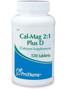 Prothera Cal Mag 2:1 Plus D 120 Tablets With Travel Pill Box by Prothera