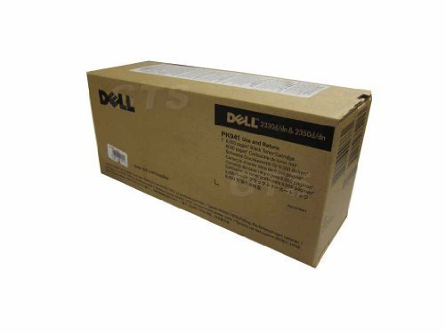 Dell 330-2649 2330 / 2350 6000 Pages High Yield Toner Cartridge (Black) in Retail Packaging
