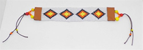 Western Diamond Pattern Beaded Bracelet (J Renee Wrap)