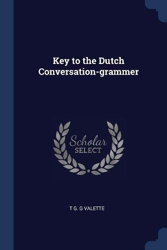 Key to the Dutch Conversation-grammer