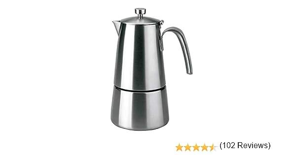 Lacor - 62211 - Cafetera Express HyperLuxe Inox. 10 Tazas: Amazon.es: Hogar