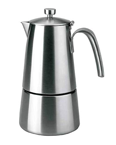 Lacor - 62211 - Cafetera Express HyperLuxe Inox. 10 Tazas: Amazon ...