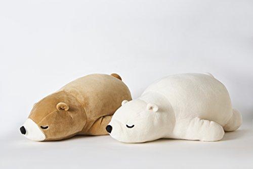 Shinjidai Scooshin Cute Polar Bear Ultra Soft Plush Stuffed Animal, Pillow Cushion - 10
