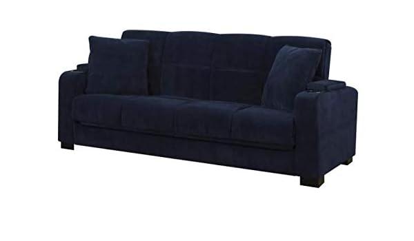 Cool Amazon Com Susan Velvet Convert To Couch Storage Arm Futon Pabps2019 Chair Design Images Pabps2019Com