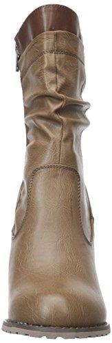 M Olivia Ankle Hester Miller US Brown Women's Boot 8 znzr6x