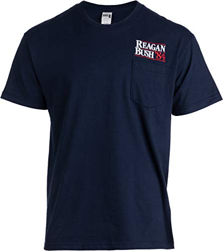 Reagan Bush '84 Pocket Tee | Embroidered Conservative for sale  Delivered anywhere in USA