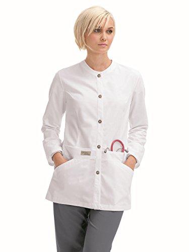 ials 9607 Women's Lab Jacket White XS ()