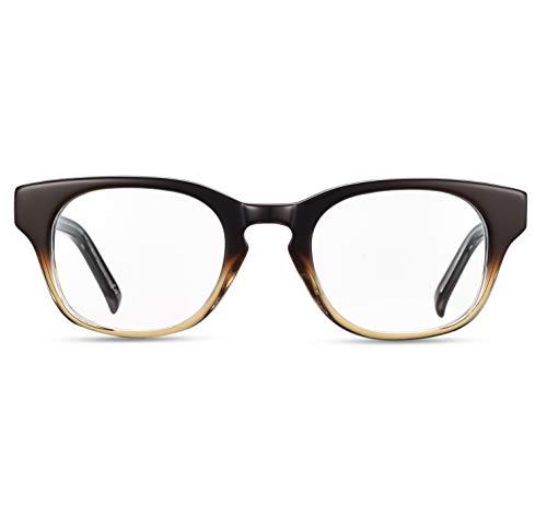 Boca Blu Blue Light Blocking Computer Glasses   UV Light Filtering Anti Glare Gaming Glasses for Men/Women (Iris Brown) - Iris Lite
