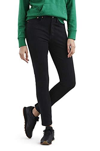 (Levi's 501 Stretch Skinny Jeans (26W x 28L, Black Heart))