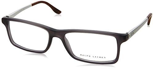 Ralph Lauren RL6128 Eyeglass Frames 5510-53 - Matte Grey RL6128-5510-53