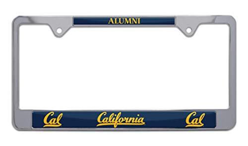 license plate frame cal alumni - 9