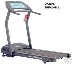 Steelflex Treadmill XT-2600